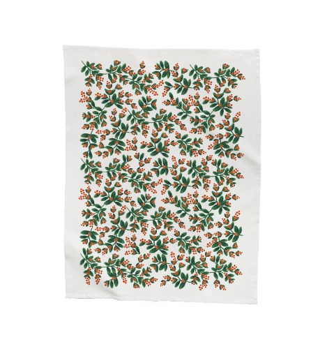 [Rifle Paper Co.] Mistletoe Holiday Tea Towel