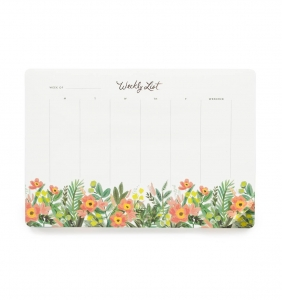 [Rifle Paper Co.] Honeydew Weekly Desk Pad