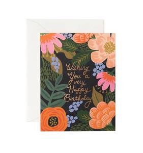 [Rifle Paper Co.] Bordeaux Birthday Card
