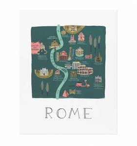 [Rifle Paper Co.] Rome 11 x 14