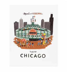 [Rifle Paper Co.] Chicago 16 x 20