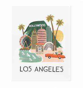 [Rifle Paper Co.] Los Angeles 11 x 14
