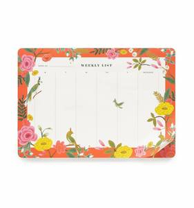 [Rifle Paper Co.] Shanghai Garden Weekly Desk Pad