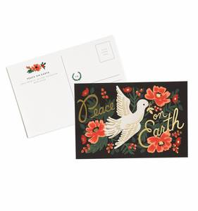 [Rifle Paper Co.] Peace on Earth Postcards [10 postcards]