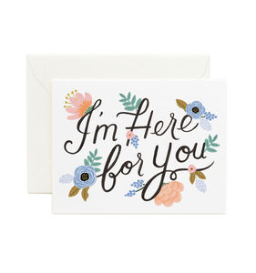 [Rifle Paper Co.] Here For You Card