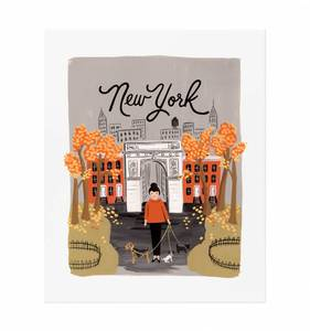 [Rifle Paper Co.] New York Autumn 11 x 14