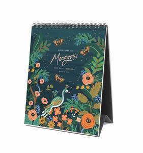 [Rifle Paper Co.] 2019 Midnight Menagerie Desk Calendar