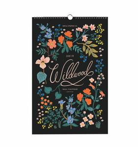 [Rifle Paper Co.] 2019 Wildwood Calendar