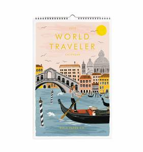 [Rifle Paper Co.] 2019 World Traveler Calendar