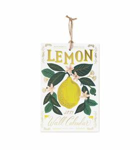 [Rifle Paper Co.] 2019 Lemon Calendar