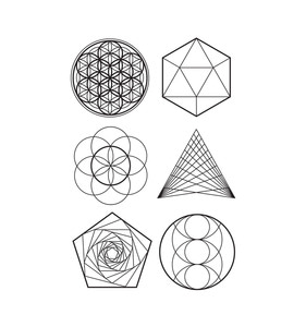 [Tattly] Sacred Geometry Scented Sheet