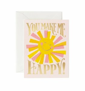 [Rifle Paper Co.] You Make Me Happy Card