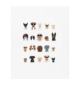"[Rifle Paper Co.] Dog Days of Summer Art Print  8"" x 10"""