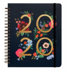 [Rifle Paper Co.] 2020 WILD ROSE Spiral Bound Planner