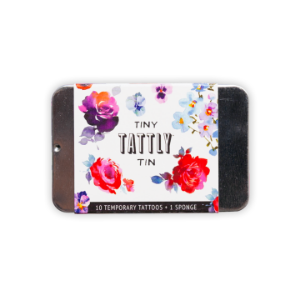 [Tattly] Tiny Floral Tin