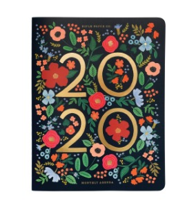[Rifle Paper Co.] 2020 Wild Rose Appointment Notebook