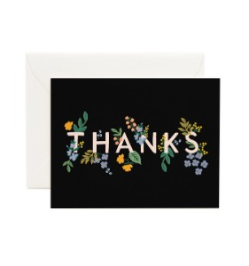 [Rifle Paper Co.] Posey Thank You Card