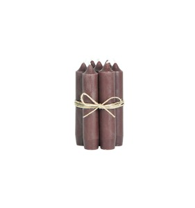 Short Candle Brown