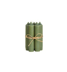 Short Candle Olive