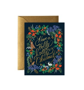 [Rifle Paper Co.] Holly Jolly Christmas Card