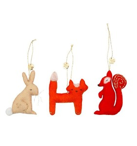 [Meri Meri] Forest Animals Tree Decoration Set