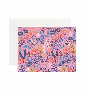 [Rifle Paper Co.] Tapestry Violet Card