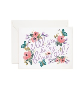 [Rifle Paper Co.] Flower Girl Card