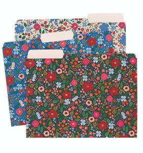 [Rifle Paper Co.] Wild Rose File Folder Sets