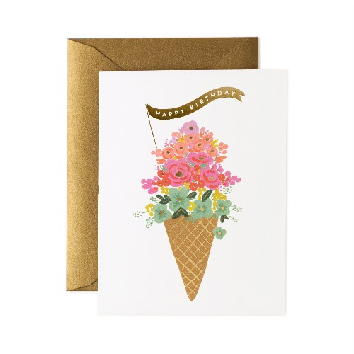 [Rifle Paper Co.] Ice Cream Birthday Card