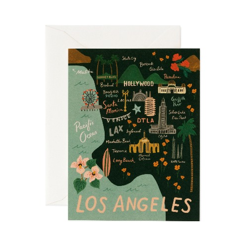 [Rifle Paper Co.] LA Card