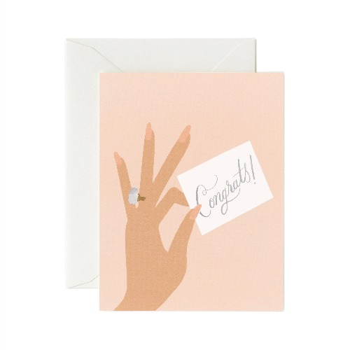 [Rifle Paper Co.] Congrats Ring Card