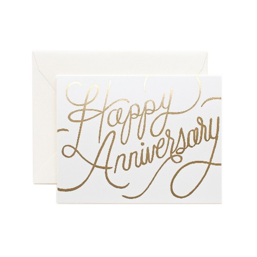 [Rifle Paper Co.] Happy Anniversary Card