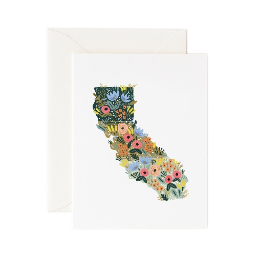 [Rifle Paper Co.] California Wildflowers Card