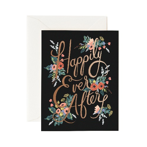 [Rifle Paper Co.] Eternal Happily Ever After Card