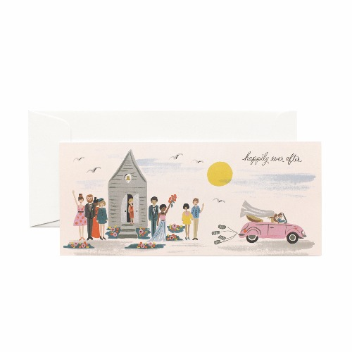 [Rifle Paper Co.] Wedding Send-off No.10 Card