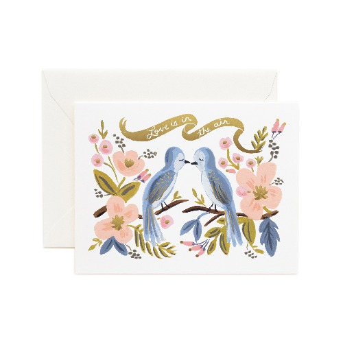 [Rifle Paper Co.] Love is in the Air Card