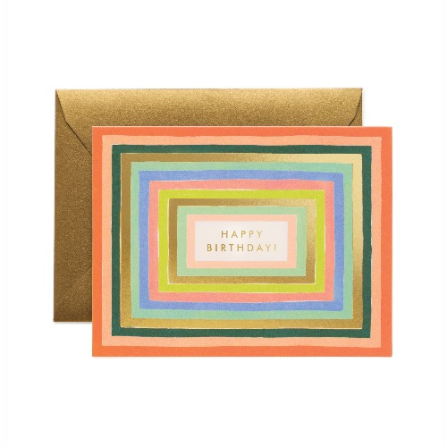 [Rifle Paper Co.] Disco Birthday Card
