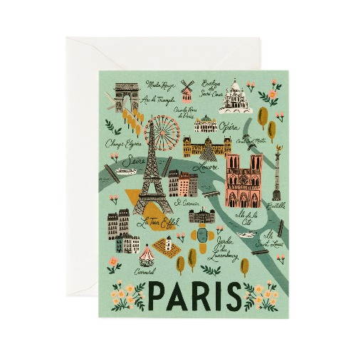[Rifle Paper Co.] Paris Card