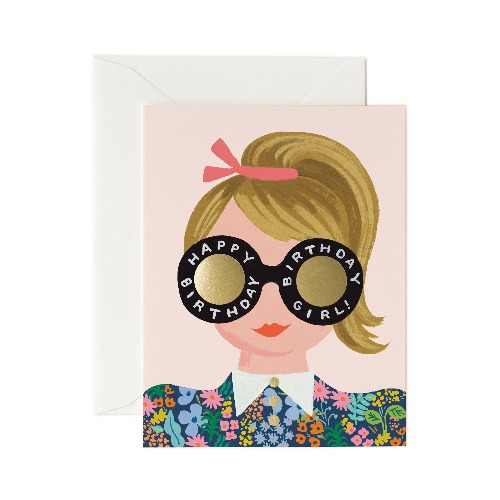 [Rifle Paper Co.] Meadow Birthday Girl Card