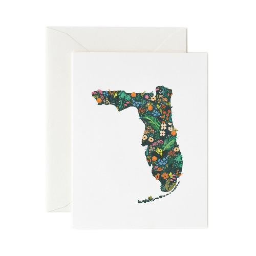 [Rifle Paper Co.] Florida Wildflowers Card