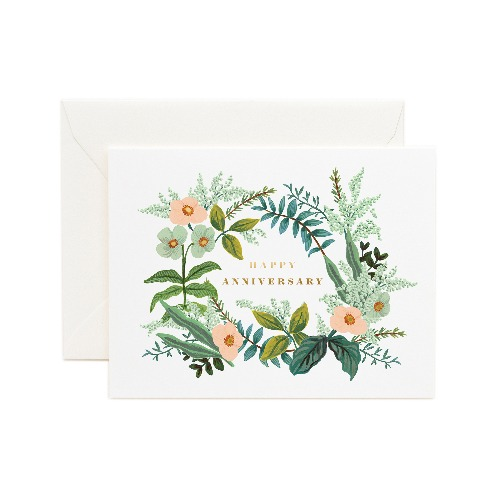 [Rifle Paper Co.] Anniversary Bouquet Card
