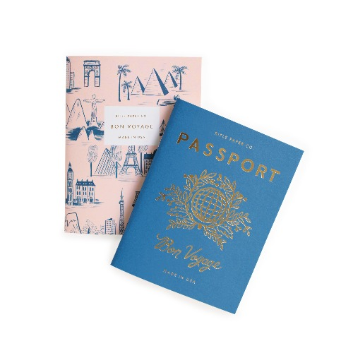 [Rifle Paper Co.] Passport Pocket Notebooks