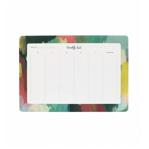 [Rifle Paper Co.] Paint Strokes Weekly Desk Pad