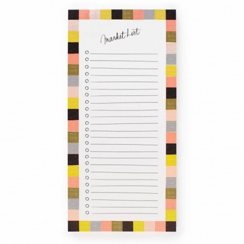 [Rifle Paper Co.] Checkered Market Pad by Garance Dore