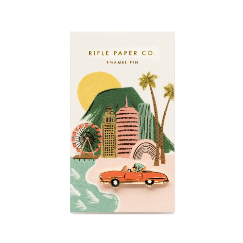 [Rifle Paper Co.] Car Enamel Pin