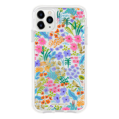 [Rifle Paper Co.] Clear Meadow iPhone Case (iPhone 11 ,11pro )