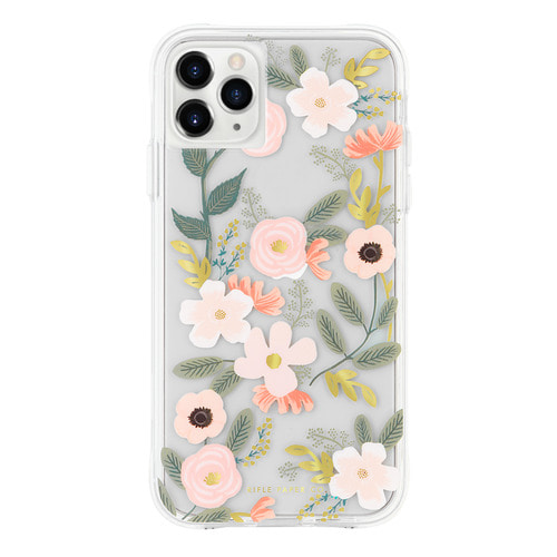 [Rifle Paper Co.] Clear Wildflowers iPhone Case (iPhone 11 , 11pro )