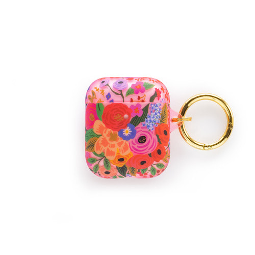 [Rifle Paper Co.] Clear Garden Party Blush AirPods Case