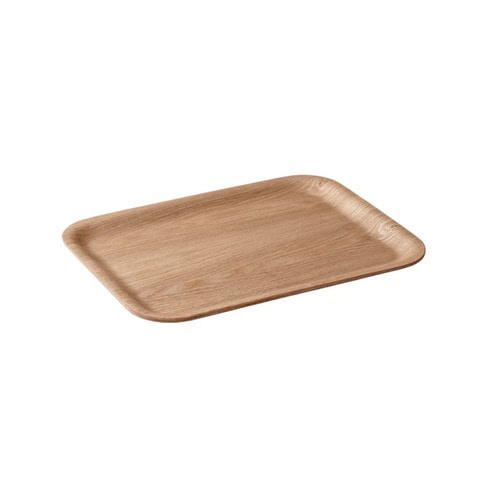 [KINTO] Nonslip rectangular tray 320mm -Willow