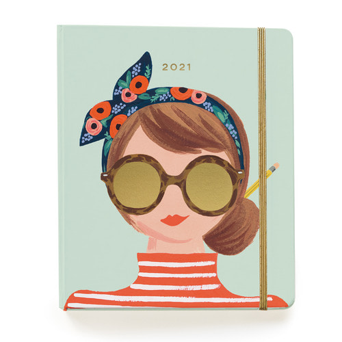 [Rifle Paper Co.] 2021 Type A 17 Month Planner